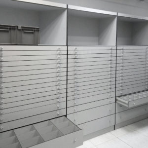 Muebles especiales | Laboratorio farmacéutico