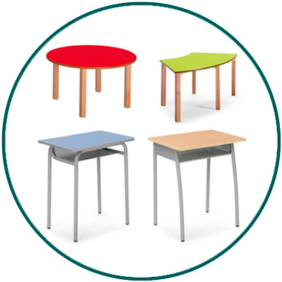 Mesas escolares mesas de institutos mobiliario escolar entornos educativos taules de colegi col·legi taules per instituts taules nens